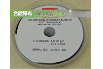 Thickness Reference Wafer